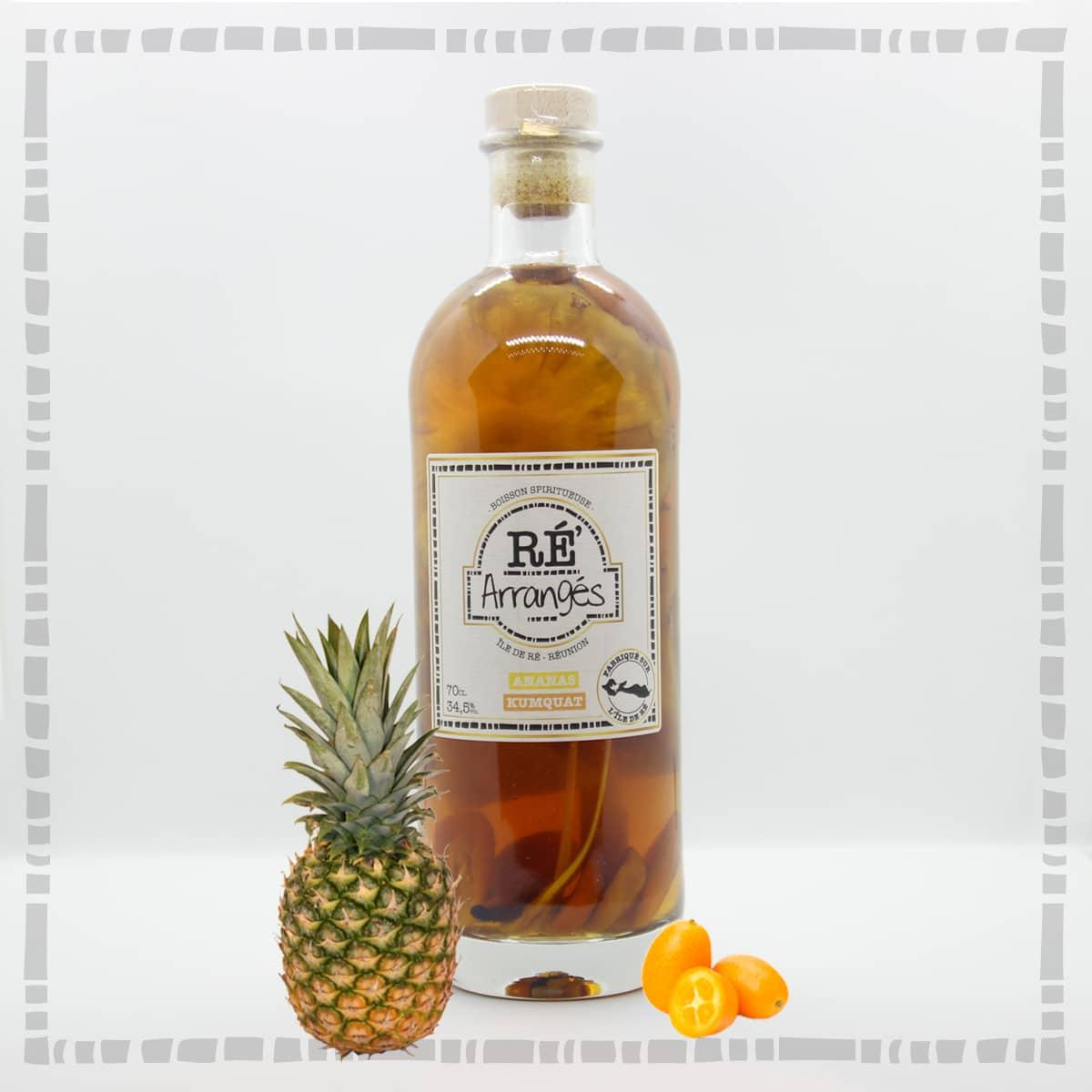 Ananas / Kumquat